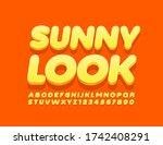 vector stylish logo sunny look. ...   Shutterstock .eps vector #1742408291