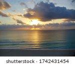 Sunrise On A Deserted Beach....