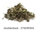 dried verbena on white... | Shutterstock . vector #174249341