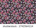 simple cute pattern in small... | Shutterstock .eps vector #1742564114