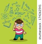 hand drawing vector... | Shutterstock .eps vector #174262541