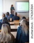 students in class    Shutterstock . vector #174265364