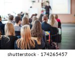 students in class  | Shutterstock . vector #174265457