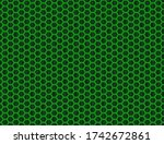 seamless vector pattern of dark ... | Shutterstock .eps vector #1742672861