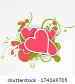 happy valentines day... | Shutterstock . vector #174269705