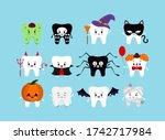 Teeth In Halloween Carnival...