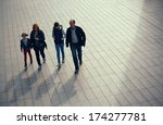 london  uk   sep 27  family... | Shutterstock . vector #174277781