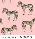 vector seamless pattern of...   Shutterstock .eps vector #1742780324