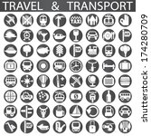 travel and transport | Shutterstock .eps vector #174280709