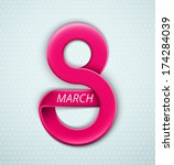 Women's Day, 8 March, eps 10