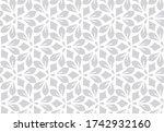 flower geometric pattern.... | Shutterstock . vector #1742932160