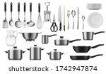 kitchenware realistic set of... | Shutterstock .eps vector #1742947874