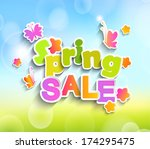 Inscription Spring Sale On The...