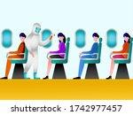 new normal vector concept ... | Shutterstock .eps vector #1742977457