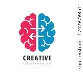 creative idea   business vector ... | Shutterstock .eps vector #1742979851