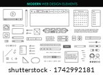 set modern design elements page ...