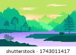 Natural Landscape Background...
