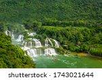 Ban Gioc Waterfall Thac Ban...