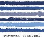 horizontal ink lines paint... | Shutterstock .eps vector #1743191867