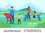 young attractive couple with... | Shutterstock .eps vector #1743204251
