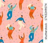 Dancing Disco Party...