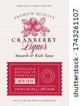 Family Recipe Cranberry Liquor...