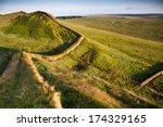 Hadrian's Wall  Northumberland...