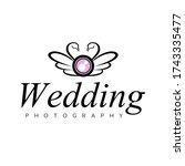 wedding photography logo ...   Shutterstock .eps vector #1743335477