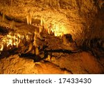 Harrison's Caves In Barbados.