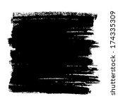 hand drawn grunge background.... | Shutterstock . vector #174335309