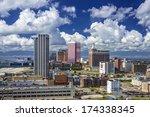 Atlantic City, New Jersey cityscape. - stock photo