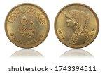 Coins 50 piastres. 2007 year. Egypt