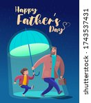 father's day is a fun  friendly ...   Shutterstock .eps vector #1743537431