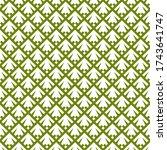seamless pattern. abstract... | Shutterstock .eps vector #1743641747