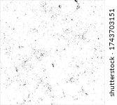 grunge black and white pattern...   Shutterstock .eps vector #1743703151