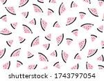 vector background with... | Shutterstock .eps vector #1743797054