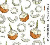 seamless pattern with sweet...