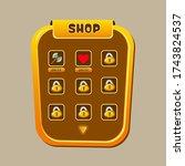 shop ui kit   game shop ui...