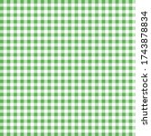 green and white pattern.... | Shutterstock .eps vector #1743878834