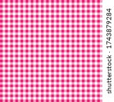 pink and white pattern. texture ... | Shutterstock .eps vector #1743879284