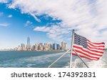 New York   Manhattan Skyline...