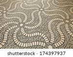 pavement road  | Shutterstock . vector #174397937