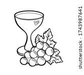 hand drawn vector illustration... | Shutterstock .eps vector #1743987641