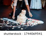 Wedding Cake That Fell To The...