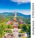 Ling Shan scenic spot, Wuxi City, Jiangsu Province, China
