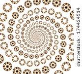 design decorative elements... | Shutterstock .eps vector #174424514