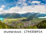 Panoramic View Of Interlaken In ...