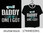 aint no daddy like the one i... | Shutterstock .eps vector #1744401041