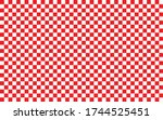 Red And White Checkered Pattern ...