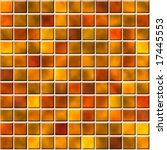seamless tiles in orange color | Shutterstock . vector #17445553